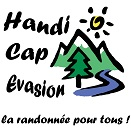 Handi Cap Evasion  Son objectif est de permettre  des personnes handicapes physiques et  des personnes valides de partager une activit de randonne pdestre en pleine nature et en montagne, grce  un fauteuil roulant tout terrain : la Jolette.