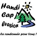Handi Cap Evasion  Son objectif est de permettre à des personnes handicapées physiques et à des personnes valides de partager une activité de randonnée pédestre en pleine nature et en montagne, grâce à un fauteuil roulant tout terrain : la Joëlette.