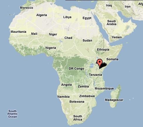 Carte Kilimandjaro