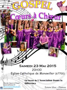Concert 23 mai