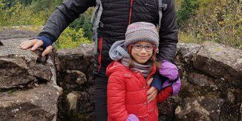 Camilia et son papa