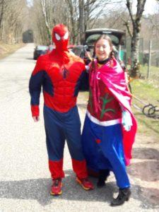 La Reine des Neige et Spiderman